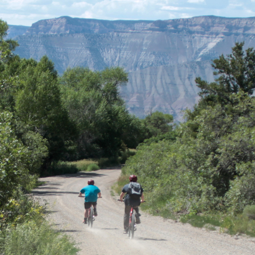 Mountain biking in Parachute Colorado
