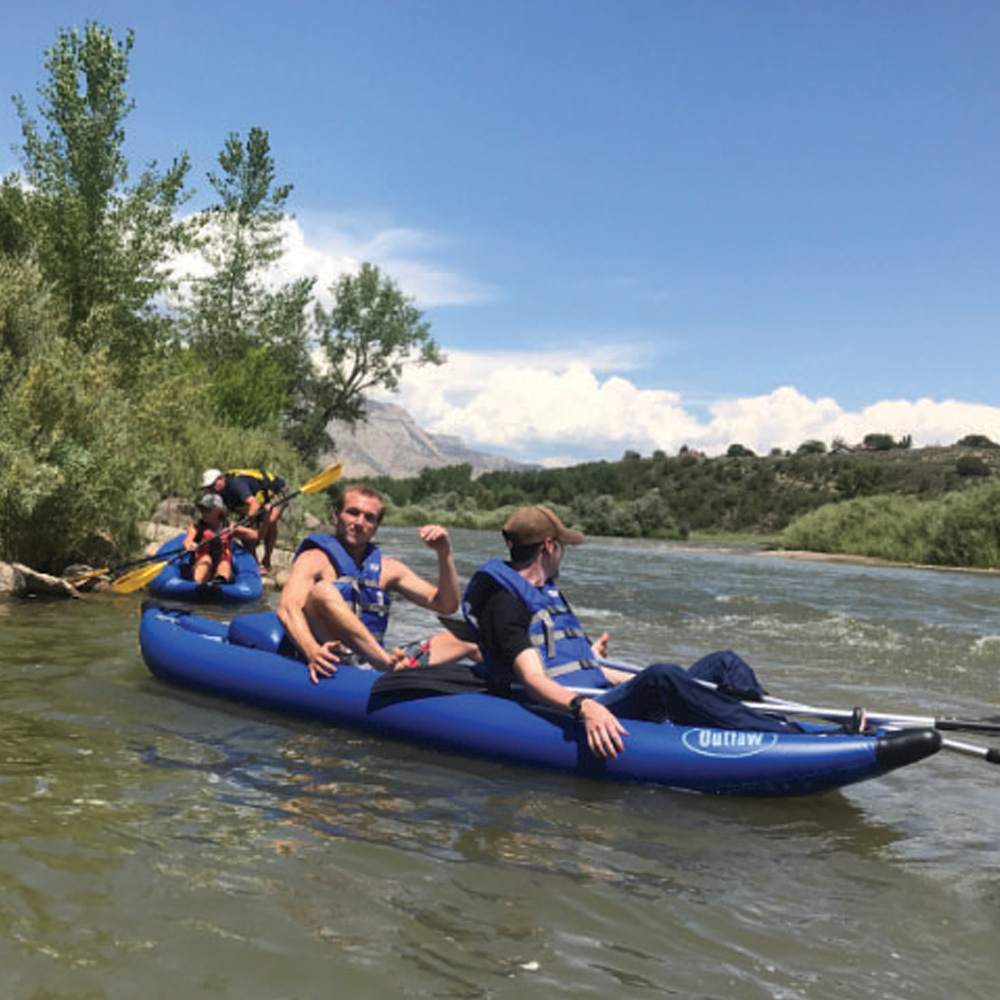 Canoeing in Parachute Colorado