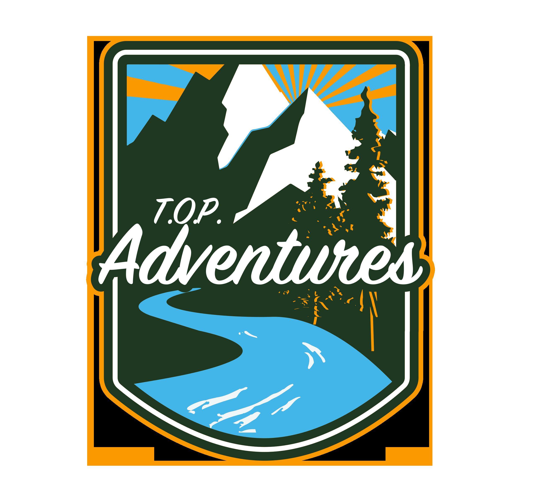 TOP Adventures logo badge