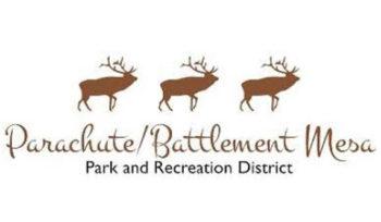 Parachute Battlement Mesa Parks and Recreation logo