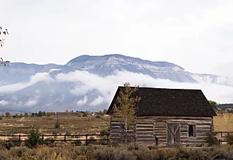 Landscape in Parachute Colorado